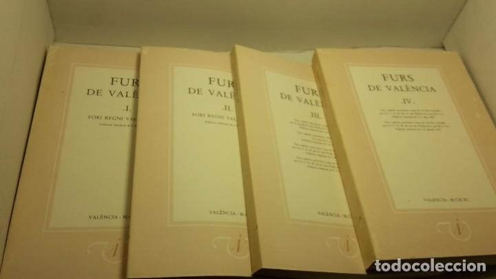FURS DE VALÈNCIA PALÀCIOS, JOSEP (Libros antiguos (hasta 1936), raros y curiosos - Historia Antigua)