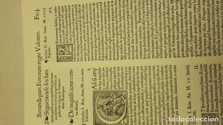 Libros antiguos: FURS DE VALÈNCIA PALÀCIOS, JOSEP - Foto 4 - 71612507