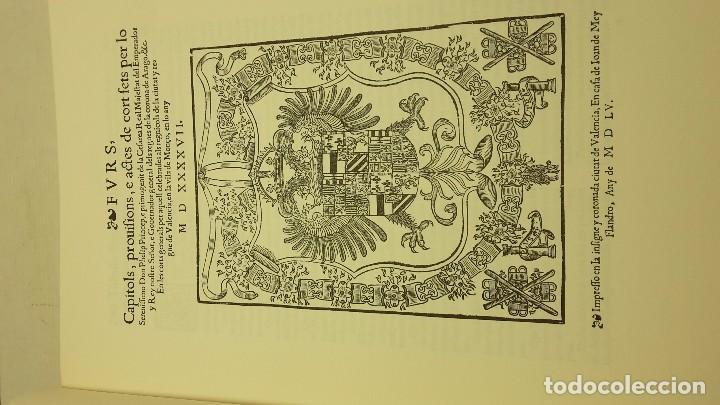 Libros antiguos: FURS DE VALÈNCIA PALÀCIOS, JOSEP - Foto 5 - 71612507