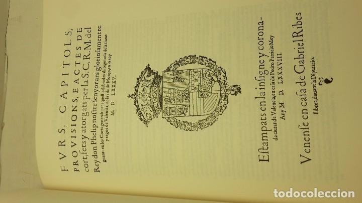 Libros antiguos: FURS DE VALÈNCIA PALÀCIOS, JOSEP - Foto 6 - 71612507