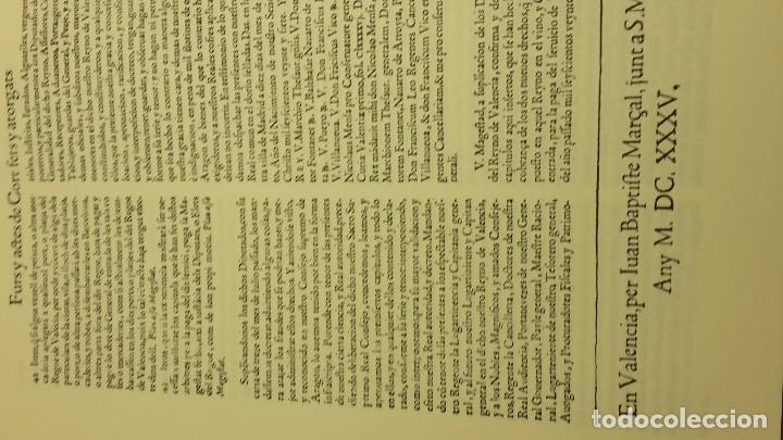 Libros antiguos: FURS DE VALÈNCIA PALÀCIOS, JOSEP - Foto 8 - 71612507