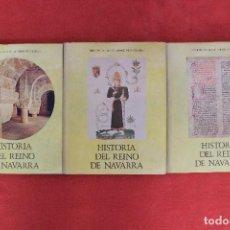 Libros antiguos: HISTORIA DEL REINO DE NAVARRA. JOSE MARÍA LACARRA. BIBLIOTECA CAJA DE AHORROS DE NAVARRA. Lote 71721979