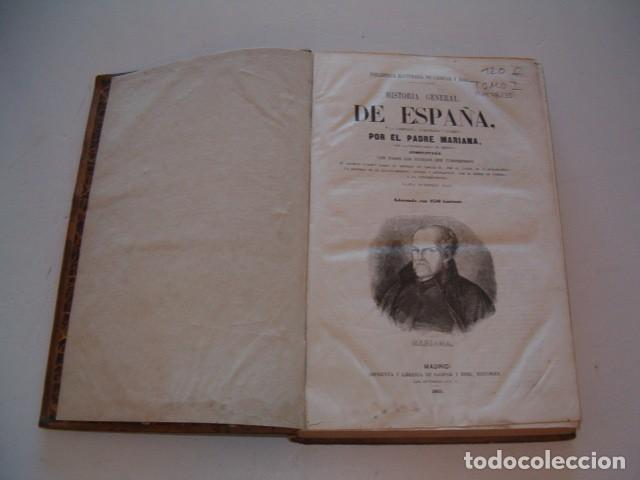 Libros antiguos: PADRE MARIANA. Historia General de España. Tomo I. RM78235. - Foto 2 - 71795499