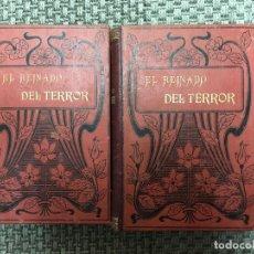 Libros antiguos: EL REINADO DEL TERROR. HISTORIA DRAMATICA DE LA REVOLUCION FRANCESA.. Lote 73017399