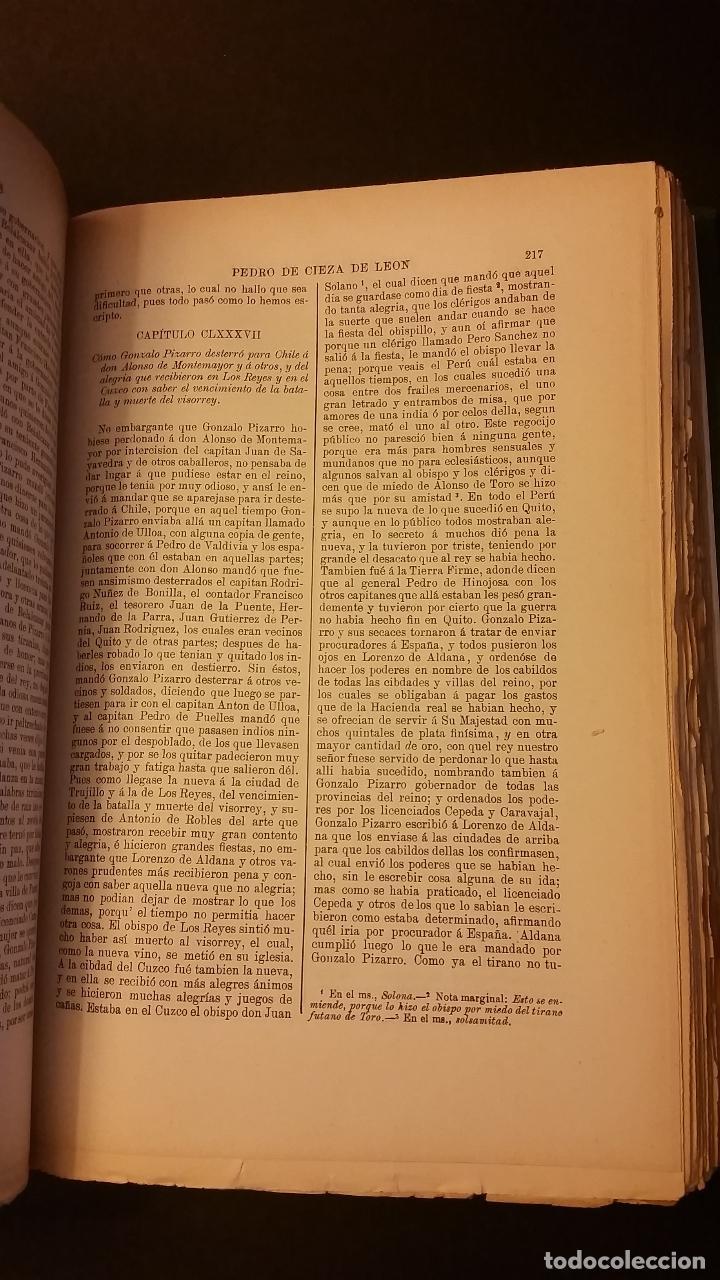Libros antiguos: 1909 - SERRANO Y SANZ - HISTORIADORES DE INDIAS - 2 TOMOS - BARTOLOMÉ DE LAS CASAS, CIEZA DE LEÓN... - Foto 5 - 73468671