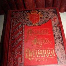 Libros antiguos: ANALES DEL REINO DE NAVARRA. 12 TOMOS. COMPLETA. JOSÉ DE MORET. EDITORIAL EUSEBIO LÓPEZ. TOLOSA 1890. Lote 73995771
