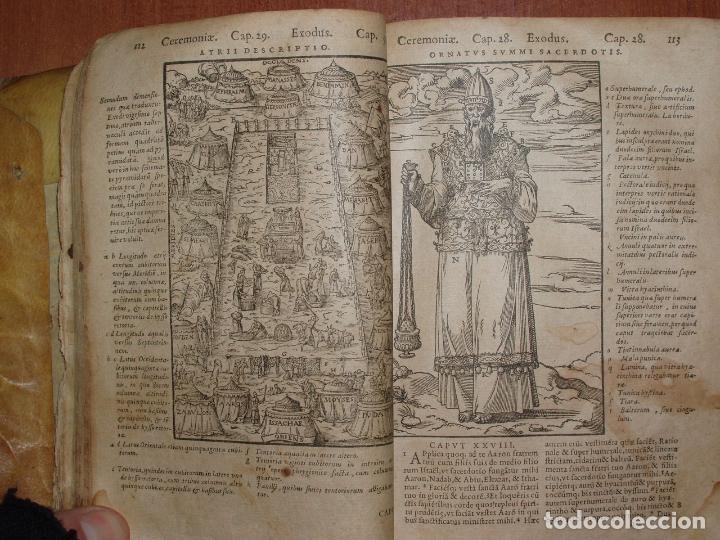 Libros antiguos: F. IOANNIS HENTENII, MECHLINIENSIS IN BIBLIA LAVANII, ANNO 1547, EXCUSA ATQUE CASTIGATA. PRAEFATIO. - Foto 6 - 75045155