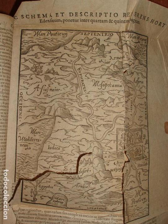 Libros antiguos: F. IOANNIS HENTENII, MECHLINIENSIS IN BIBLIA LAVANII, ANNO 1547, EXCUSA ATQUE CASTIGATA. PRAEFATIO. - Foto 7 - 75045155