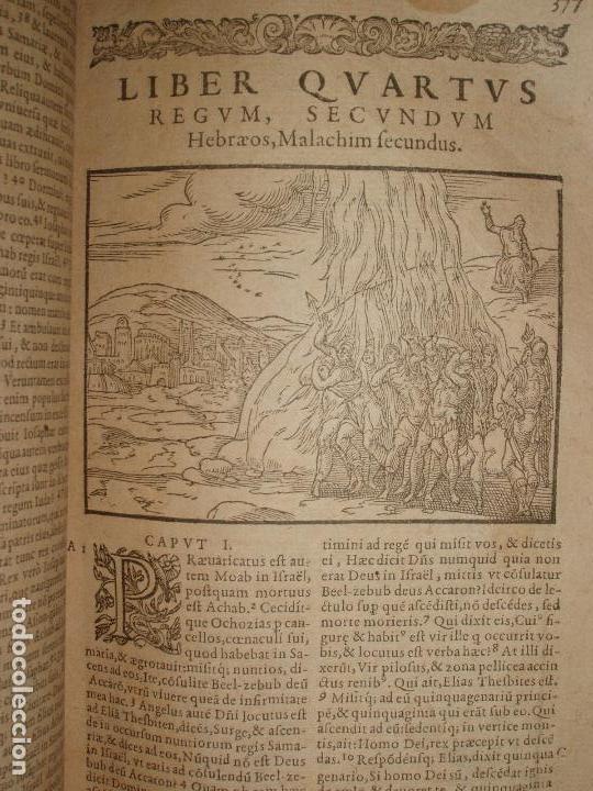 Libros antiguos: F. IOANNIS HENTENII, MECHLINIENSIS IN BIBLIA LAVANII, ANNO 1547, EXCUSA ATQUE CASTIGATA. PRAEFATIO. - Foto 9 - 75045155