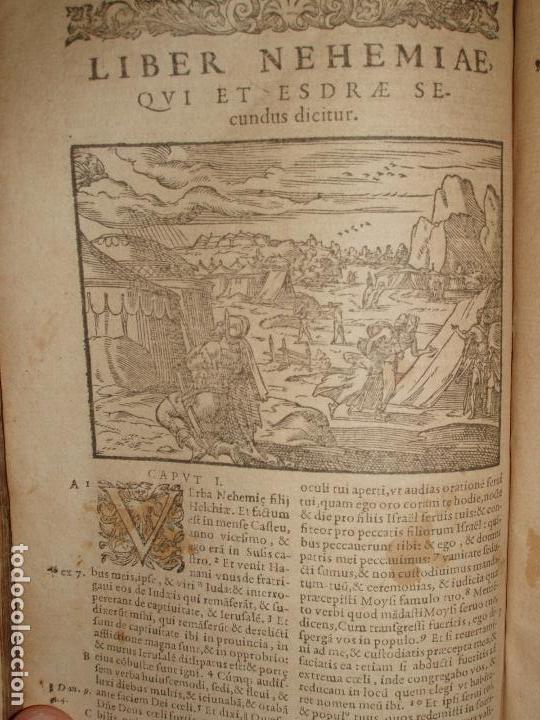 Libros antiguos: F. IOANNIS HENTENII, MECHLINIENSIS IN BIBLIA LAVANII, ANNO 1547, EXCUSA ATQUE CASTIGATA. PRAEFATIO. - Foto 10 - 75045155