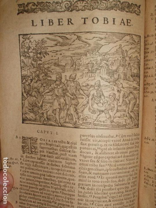 Libros antiguos: F. IOANNIS HENTENII, MECHLINIENSIS IN BIBLIA LAVANII, ANNO 1547, EXCUSA ATQUE CASTIGATA. PRAEFATIO. - Foto 11 - 75045155