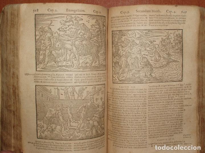 Libros antiguos: F. IOANNIS HENTENII, MECHLINIENSIS IN BIBLIA LAVANII, ANNO 1547, EXCUSA ATQUE CASTIGATA. PRAEFATIO. - Foto 12 - 75045155