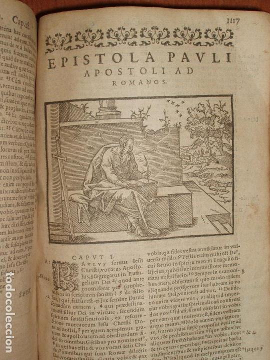 Libros antiguos: F. IOANNIS HENTENII, MECHLINIENSIS IN BIBLIA LAVANII, ANNO 1547, EXCUSA ATQUE CASTIGATA. PRAEFATIO. - Foto 15 - 75045155