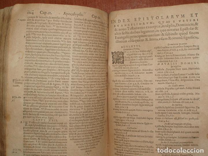 Libros antiguos: F. IOANNIS HENTENII, MECHLINIENSIS IN BIBLIA LAVANII, ANNO 1547, EXCUSA ATQUE CASTIGATA. PRAEFATIO. - Foto 16 - 75045155