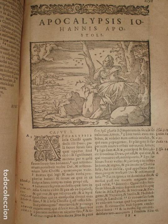 Libros antiguos: F. IOANNIS HENTENII, MECHLINIENSIS IN BIBLIA LAVANII, ANNO 1547, EXCUSA ATQUE CASTIGATA. PRAEFATIO. - Foto 17 - 75045155