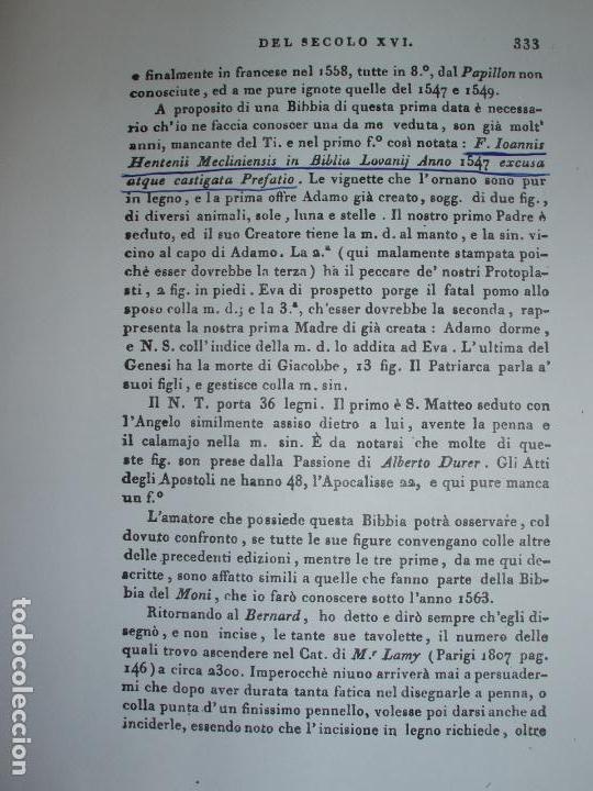 Libros antiguos: F. IOANNIS HENTENII, MECHLINIENSIS IN BIBLIA LAVANII, ANNO 1547, EXCUSA ATQUE CASTIGATA. PRAEFATIO. - Foto 18 - 75045155