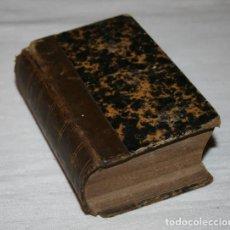 Libros antiguos: BONITO LIBRO PEQUEÑO ANTIGUO, LUIS XI TRAGEDIA, CASIMIR DELAVIGNE, BRUSELAS 1836. Lote 75159619