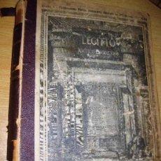 Libros antiguos: LEGITTO ANTICO - MODERNO . EGIPTO ANTIGUO Y MODERNO . 1893 ED EDOARDO PERINO . PRECIOSOS GRABADOS. Lote 75927143
