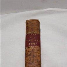 Libros antiguos: GUIA O ESTADO GENERAL DE LA REAL HACIENDA DE ESPAÑA,REALES DECRETOS Y ORDENES AÑO 1823. Lote 76915967