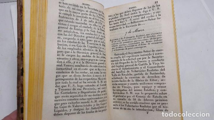 Libros antiguos: GUIA O ESTADO GENERAL DE LA REAL HACIENDA DE ESPAÑA, AÑO 1826 PARTE LEGISLATIVA. - Foto 4 - 76982789