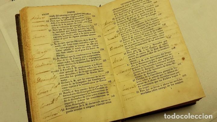 Libros antiguos: GUIA O ESTADO GENERAL DE LA REAL HACIENDA DE ESPAÑA, AÑO 1827 PARTE LEGISLATIVA. - Foto 4 - 76983369