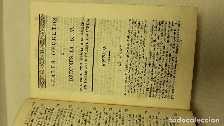 Libros antiguos: GUIA O ESTADO GENERAL DE LA REAL HACIENDA DE ESPAÑA, AÑO 1828 PARTE LEGISLATIVA. - Foto 5 - 76984109