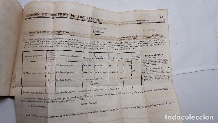 Libros antiguos: GUIA O ESTADO GENERAL DE LA REAL HACIENDA DE ESPAÑA, AÑO 1835 PARTE LEGISLATIVA. - Foto 5 - 76991745
