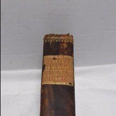 Libros antiguos: GUIA O ESTADO GENERAL DE LA REAL HACIENDA DE ESPAÑA, AÑO 1838 PARTE LEGISLATIVA. . Lote 77058201