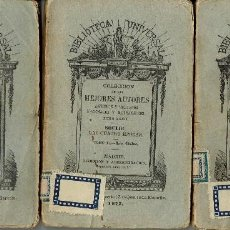 Libros antiguos: LAS CUATRO ÉPOCAS, DE SOULIÉ.TOMO II:LOS GALOS.TOMO III:LOS ROMANOS Y TOMO IV:LOS CRISTIANOS. (1.1). Lote 80730802