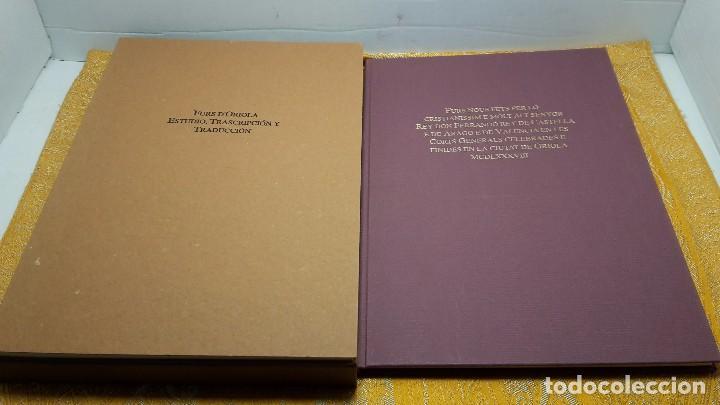 FURS D'ORIOLA (Libros antiguos (hasta 1936), raros y curiosos - Historia Antigua)