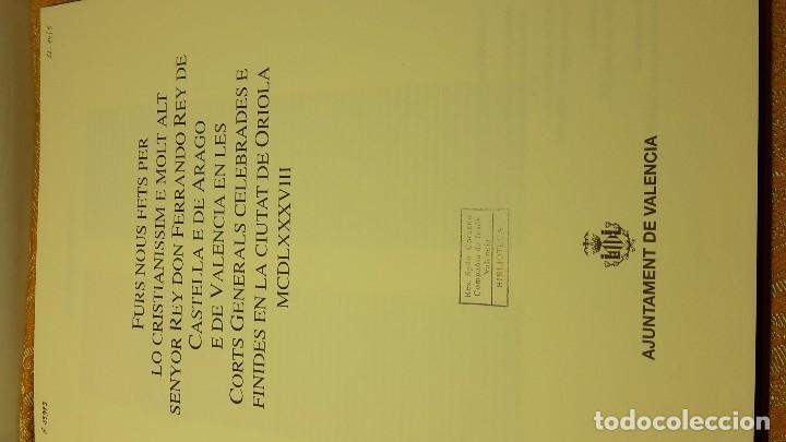 Libros antiguos: Furs D'Oriola - Foto 4 - 80802723