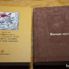 Libros antiguos: AUREUM OPUS REGALIUM PRIVILEGIORUM CIVITATIS ET REGNI VALENTIE. Lote 80808911