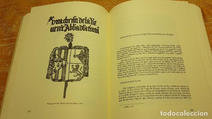 Libros antiguos: VITA CHRISTI. - SOR ISABEL DE VILLENA.NUMERADO. - Foto 6 - 80866627