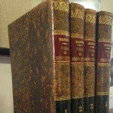 Alte Bücher - 1832.- HISTORIA DE LA VIDA DE NUESTRO SEÑOR JESUCRISTO. FRANCISCO MARTINEZ MARINA. MUYA RARA - 81012064