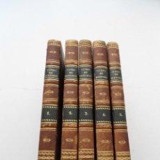 Libros antiguos: CURSO DE HISTORIA ANTIGUA - GUAY - IMP. BERGNES Y CIA. - 1832 - 5 VOLUMENES - OBRA COMPLETA - RARA. Lote 82513736