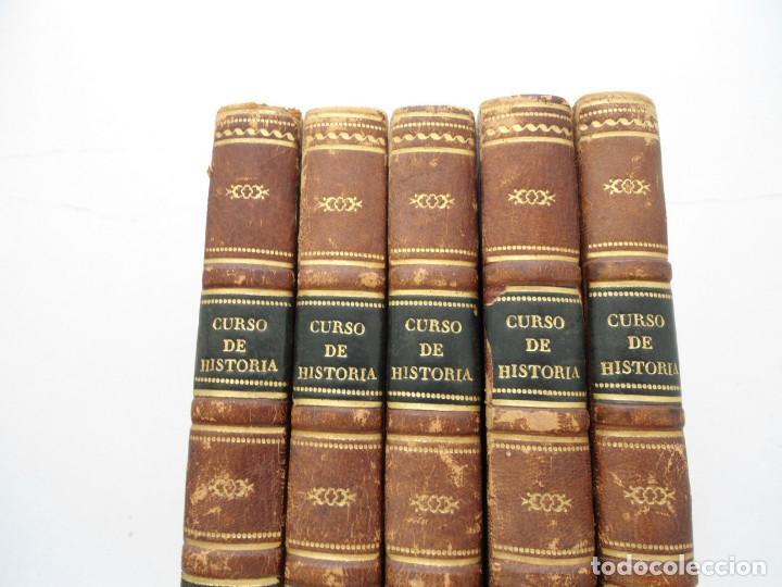 Libros antiguos: CURSO DE HISTORIA ANTIGUA - GUAY - Imp. BERGNES y Cia. - 1832 - 5 VOLUMENES - OBRA COMPLETA - RARA - Foto 2 - 82513736