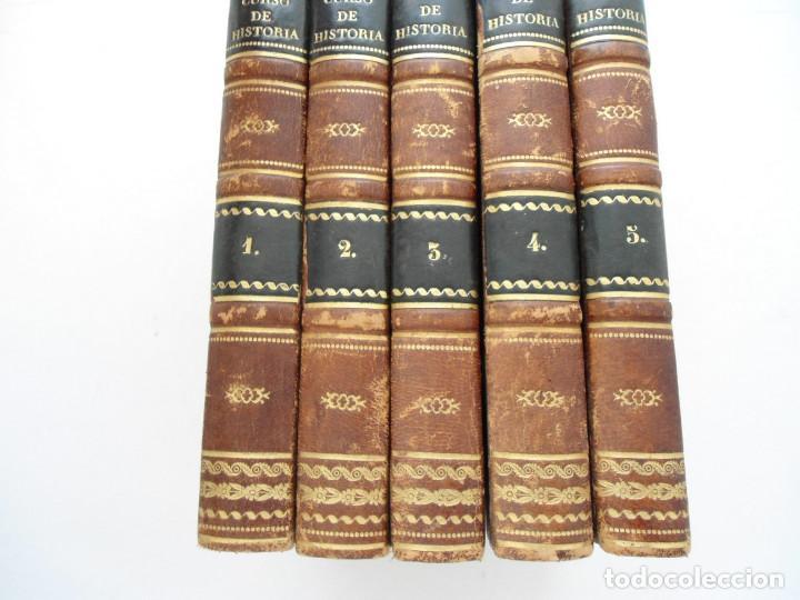 Libros antiguos: CURSO DE HISTORIA ANTIGUA - GUAY - Imp. BERGNES y Cia. - 1832 - 5 VOLUMENES - OBRA COMPLETA - RARA - Foto 3 - 82513736