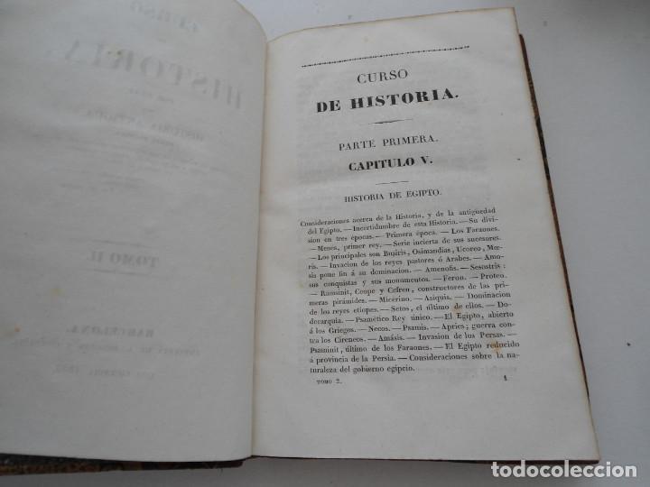 Libros antiguos: CURSO DE HISTORIA ANTIGUA - GUAY - Imp. BERGNES y Cia. - 1832 - 5 VOLUMENES - OBRA COMPLETA - RARA - Foto 10 - 82513736