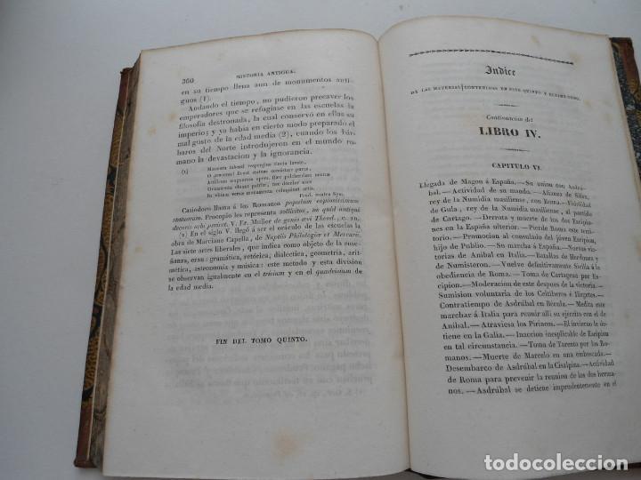 Libros antiguos: CURSO DE HISTORIA ANTIGUA - GUAY - Imp. BERGNES y Cia. - 1832 - 5 VOLUMENES - OBRA COMPLETA - RARA - Foto 20 - 82513736