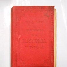 Libros antiguos: COMPENDIO DE HISTORIA UNIVERSAL. CANTU, CESAR. TDK22. Lote 31513675