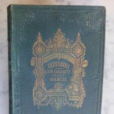 Livros antigos: CERVANTES, DON QUIJOTE DE LA MANCHA, EN ITALIANO MUY ANTIGUO MILANO FRATELLI TREVES 18 X 12 C.M.. Lote 82755476