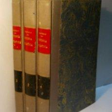 Libros antiguos: DATOS PARA LA HISTORIA DE JATIVA. TRES TOMOS. SARTHOU CARRERES CARLOS. 1933. Lote 83349152