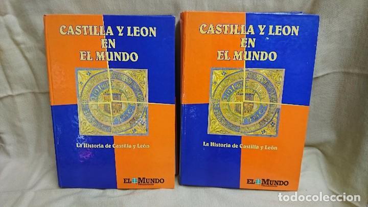 CASTILLA Y LEÓN EN EL MUNDO - LA HISTORIA DE CASTILLA Y LEÓN - TOMÓ I Y II (Libros antiguos (hasta 1936), raros y curiosos - Historia Antigua)