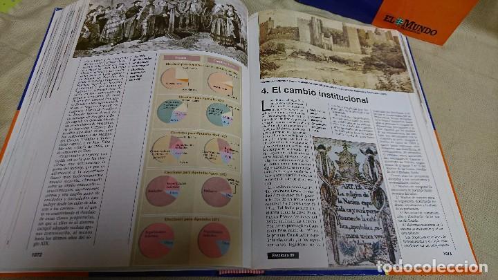 Libros antiguos: CASTILLA Y LEÓN EN EL MUNDO - LA HISTORIA DE CASTILLA Y LEÓN - TOMÓ I Y II - Foto 9 - 83566176