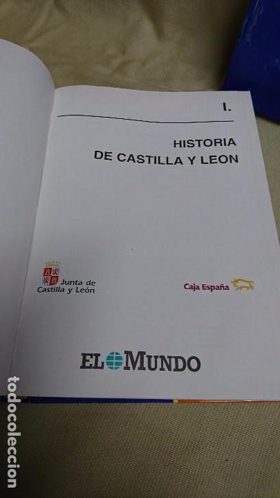 Libros antiguos: CASTILLA Y LEÓN EN EL MUNDO - LA HISTORIA DE CASTILLA Y LEÓN - TOMÓ I Y II - Foto 2 - 83566176