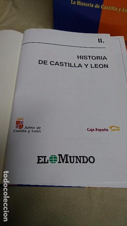 Libros antiguos: CASTILLA Y LEÓN EN EL MUNDO - LA HISTORIA DE CASTILLA Y LEÓN - TOMÓ I Y II - Foto 8 - 83566176