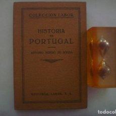 Libros antiguos: SERGIO DE SOUSA. HISTORIA DE PORTUGAL. ED.LABOR. 1929. MUY ILUSTRADO.. Lote 85763568