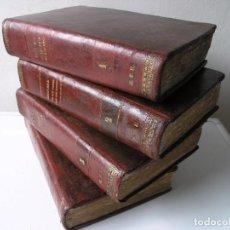 Libros antiguos: HISTORIA DE LOS PAPAS Y LOS REYES - MAURICE DE LA CHATRE - 4 VOLÚMENES - JUAN PONS EDITOR 1870/1871. Lote 86581772