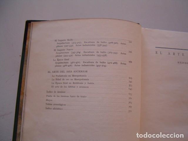 Libros antiguos: HEINRICH SCHÄFER, WALTER ANDRAE. Arte del Antiguo Oriente. RM80991. - Foto 6 - 87062488
