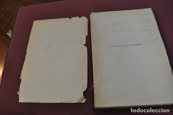 Libros antiguos: 3 tomos la revolucion francesa , historia de los girondinos años 30 , ejemplares intonsos - AHG - Foto 3 - 88604164